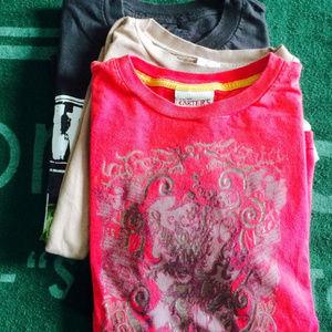 Ed Hardy Kids T-Shirt + Carters & Ink sz 7